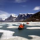 Pangnirtung Fjord, Baffin Island [Print #0155]