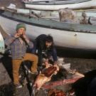 Inuit Boys, Baffin Island [Print #0160]