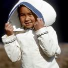Inuit Girl, Baffin Island [Print #0185]