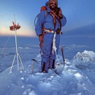 Doug Scott on the summit of Everest, Nepal [Print #0285]