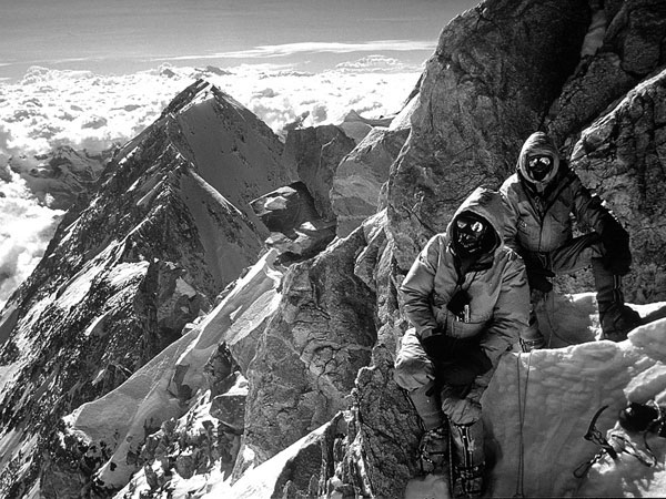 Peter Boardman and Joe Tasker on Kangchenjunga